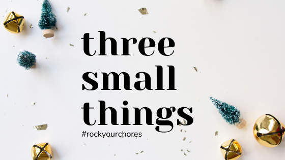 three small things title image