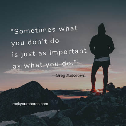 Greg McKeown quote Essentialism