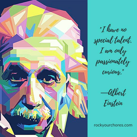 Einstein graphic